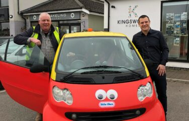 """""""Toy"""" Car Auction Leads to Derian House Donation"""