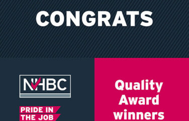Double Celebration After NHBC Pride in the Job Award Win