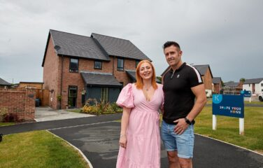 COUPLE FALL IN LOVE WITH NEW HOME IN FORTON